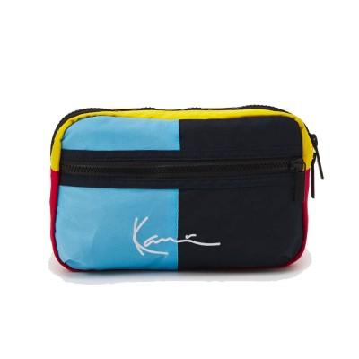 Riñonera Karl Kani Signature Vlock Hip Bag Navy-Red