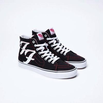 Zapatillas Vans x Foo Fighters Sk8 collab negras