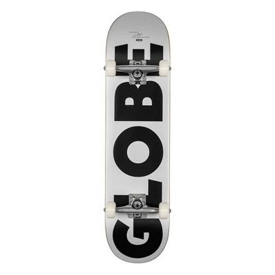 """Skate Completo Globe 8"""" Go Fubar White-Black"""