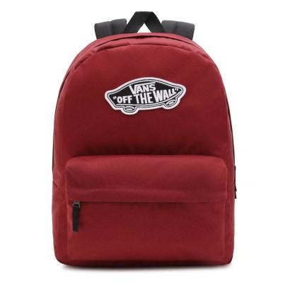 Mochila Vans Realm Backpack Pomegranate Burdeos