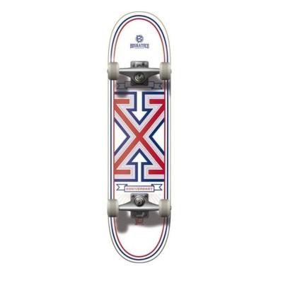 """Skate Completo BDSkateco 7.8"""" X Anniversary White"""