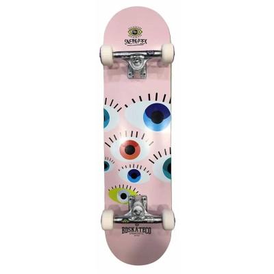 """Skate Completo BDSkateco 7.8"""" Sneak Peek Pink"""