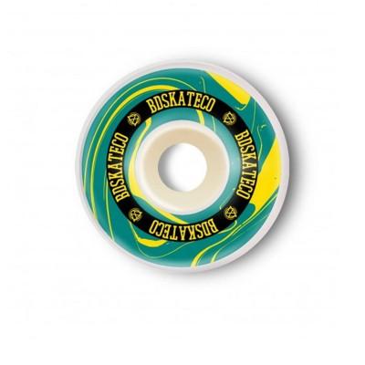 Ruedas BDSkateCo Ink 54mm Yellow-Green