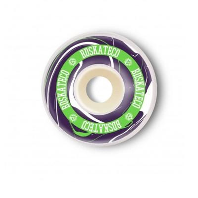 Ruedas BDSkateCo Ink 52mm Purple-Green