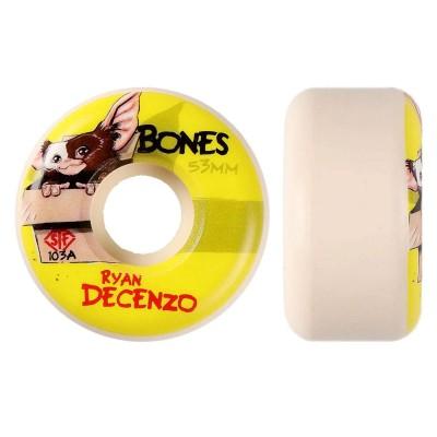 Ruedas Bones Decenzo Gizzmo 53 V2 Locks Street Tech...