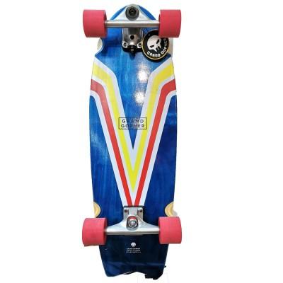Surfskate Manual Grand Gopher eje Slide V Blue Red Yellow