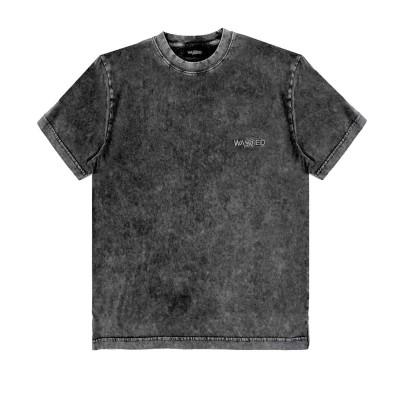 Camiseta Wasted Paris Faded Signature Black