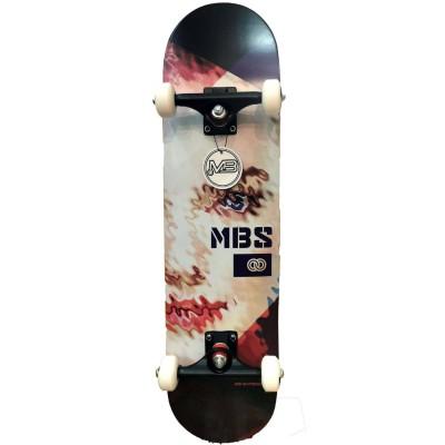 Skateboard completo Manual Short Skate Kiss 8'' - 8.2''