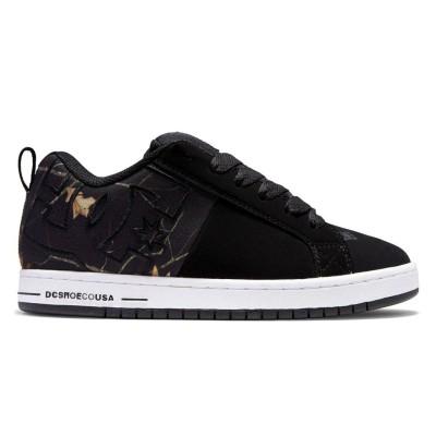 Zapatillas DC Shoes Court Graffik SQ Black Print BKN