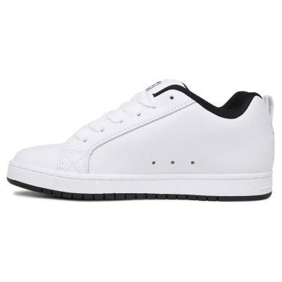 Zapatillas DC Shoes Court Graffik White-Black