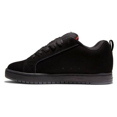 Zapatillas DC Shoes Court Graffik Black-Red