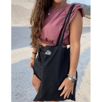 Bolso Tote Bag Reptilians Black