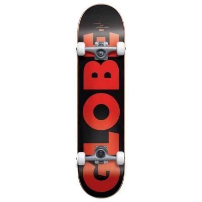 """Skate Completo Globe 7.75"""" Go Fubar Black Red"""