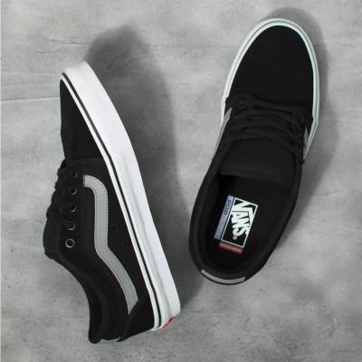 Zapatillas Vans Chukka Low Sidestripe Black-Gray-White