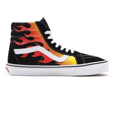 Zapatillas Vans Ua Sk8-Hi Reissue (Flame)Black-Bl