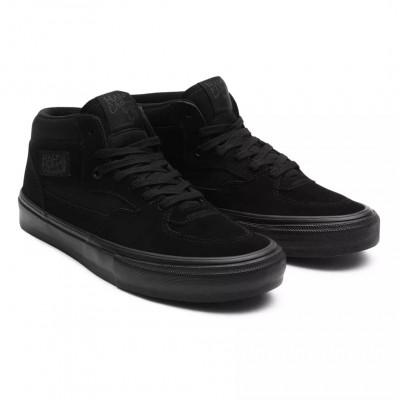 Zapatillas Vans Skate Half Cab Black-Black
