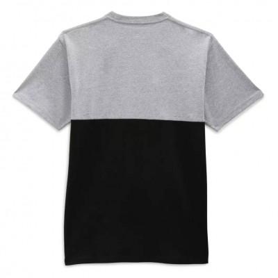Camiseta Vans Colorblock Tee Athletic Heather-Black