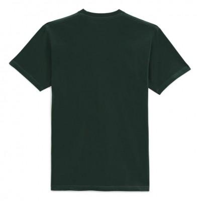 Camiseta Vans Left Chest Logo T Verde Scarab