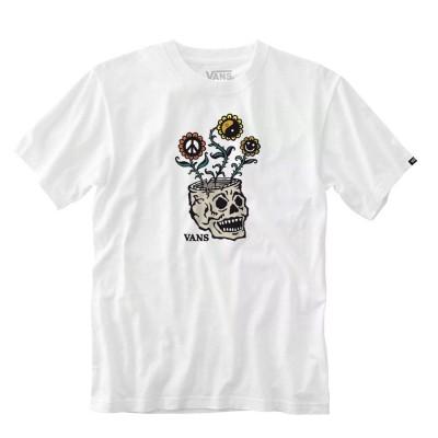 Camiseta Vans Mn Sprouting Ss White
