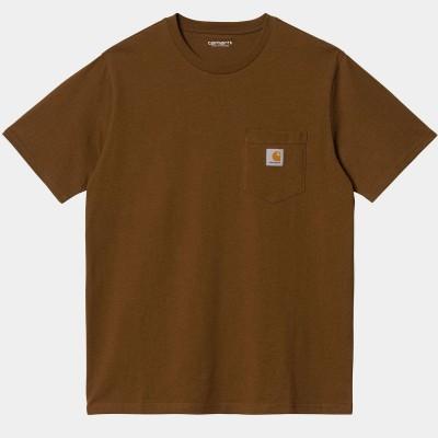 Camiseta Carhartt S-S Pocket T-Shirt Tawny