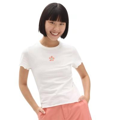 Camiseta Vans Wm Brighton Flower B White