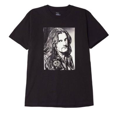 Camiseta OBEY Obey - Motorhead Lemmy Negra Black