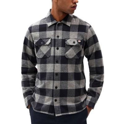 Camisa Dickies New Sacramento Shirt Grey Melange