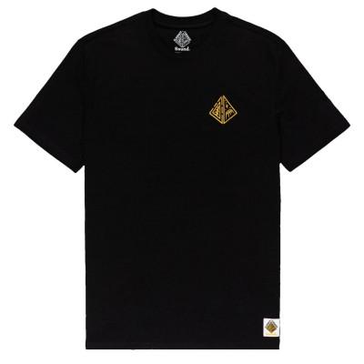 Camiseta Element Acceptance Flint Black