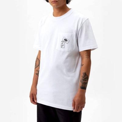 Camiseta Dickies x No Jamie Foy Collab JF Graphics blanca...