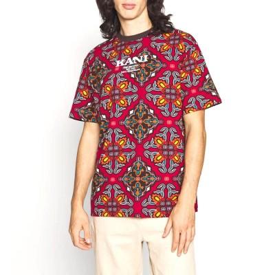 Camiseta pash Karl Kani Retro Ornamental Tee multicolor