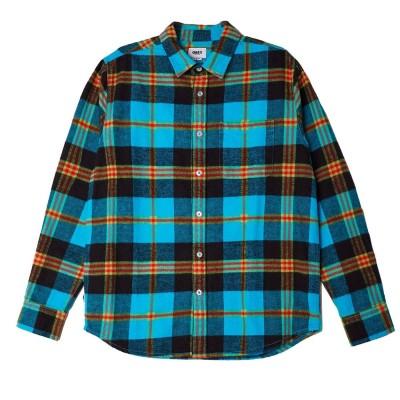Camisa OBEY Orchard Woven Aqua Multi