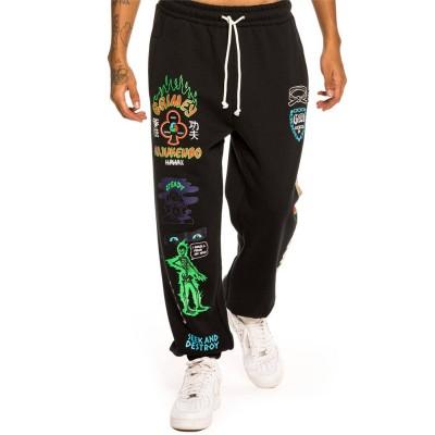 Pantalón jogger Grimey Destroy All Fear Sweatpants Negro...