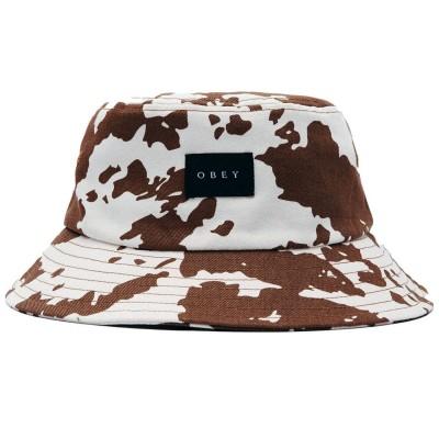 Gorro bucket OBEY Sal Bucket Hat Brn