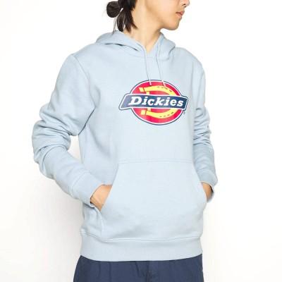 Sudadera capucha Dickies Icon Logo Hoodie Azul Fog Blue