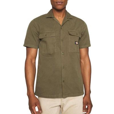Camisa Dickies Paynesville Verde Military Green