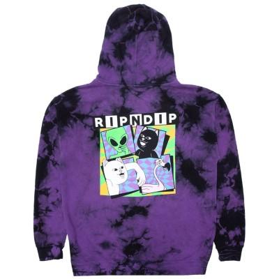 Sudadera RipNDip Sid Hoodie Morada Purple