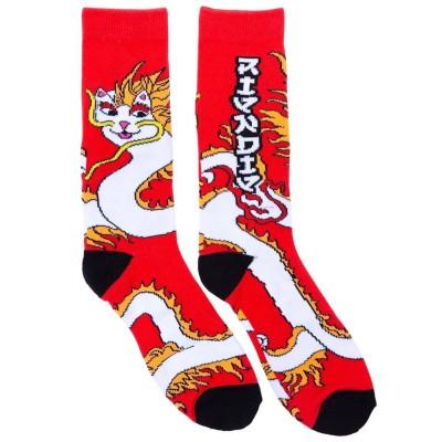 Calcetines RipNDip Dragonnerm Socks Rojo Red