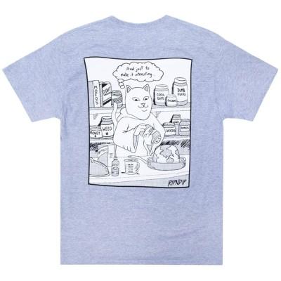 Camiseta RipNDip Shake N Bake Tee Gris Heather Grey
