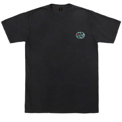Camiseta Dark Seas White Rice Pigment T-Shirt Negro Black