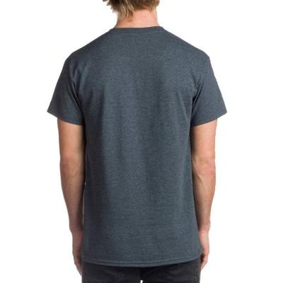 Camiseta Thrasher New Flame logo gris Dark Heather