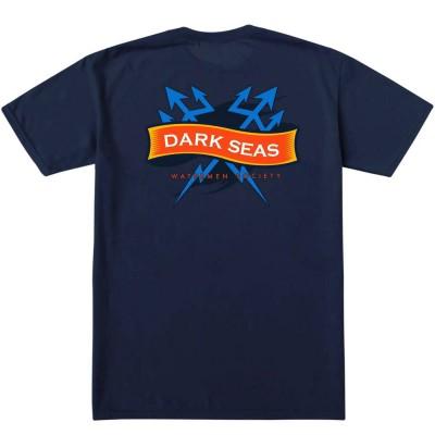 Camiseta Dark Seas Enlisted Wicking S-S T-Shirt Navy