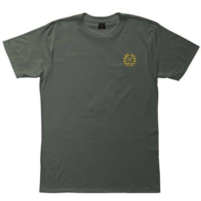 Camiseta Dark Seas Submarine Old Time T-Shirt B. Verde Green