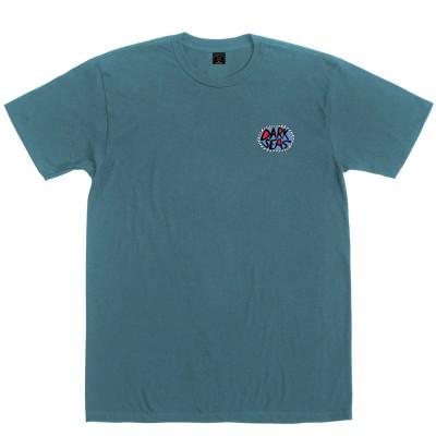 Camiseta Dark Seas Kookling Pigment T-Shirt Emerald