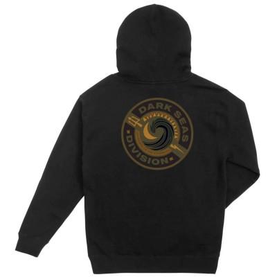 Sudadera Dark Seas Storm rider 2 Pullover Fleece Negro Black