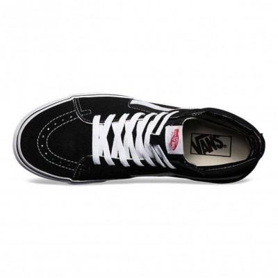 Zapatillas Vans altas Sk8-Hi negras suela blanca